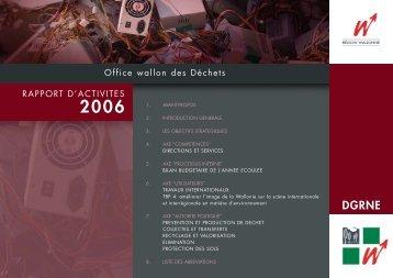 Office Wallon des Déchets - Portail environnement de Wallonie