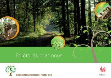 Forêts de chez nous - Portail environnement de Wallonie
