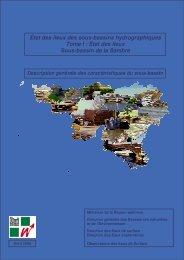 État des lieux Sous-bassin de la Sambre - Portail environnement de ...