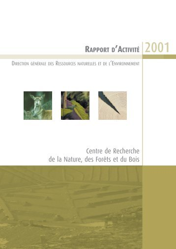 Centre de Recherche de la Nature, des Forêts et du Bois - Portail ...