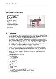 Hochbett fürs Kinderzimmer 1 Einleitung - Bosch Elektrowerkzeuge ...
