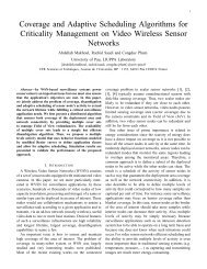 Coverage and Adaptive Scheduling Algorithms for Criticality ...