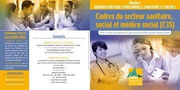 Cadres du secteur sanitaire, social et médico social (C3S)