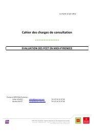 Cahier des charges de consultation - Arpe