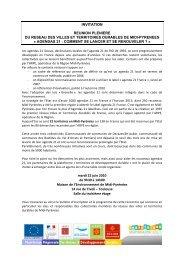 agendas 21 - Arpe