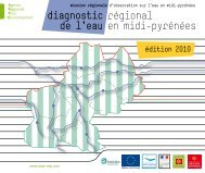 diagnostic régional de l'eau en midi-pyrénées - Arpe