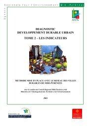 diagnostic developpement durable urbain tome 2 – les ... - Arpe