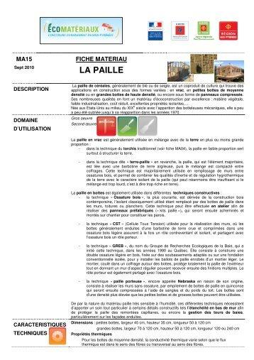LA PAILLE - Arpe