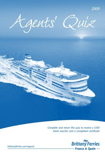 Agents - Brittany Ferries