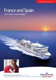 France and Spain - Brittany Ferries