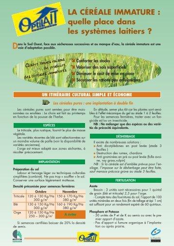 Fleurs de for Chambre agriculture indre