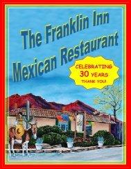 CELEBRATING 30 YEARS - Franklin Inn Mexican Restaurant