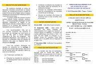 SMSTS Tunis O6 - Génie des procédés appliqué à l'agro-alimentaire