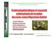 Campos - Génie des procédés appliqué à l'agro-alimentaire