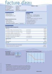 la facture d'eau idéale - Inter-Environnement Wallonie