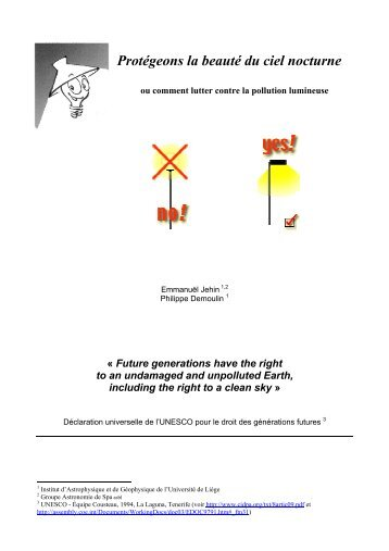 Rencontre nocturne pdf