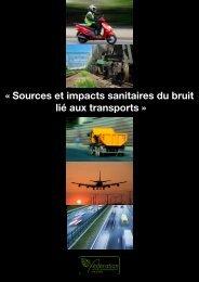 Sources et impacts sanitaires du bruit des transports