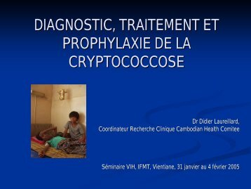 VIH-Cryptococcose-Cambodge
