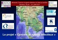 Le projet Â« Cancers et agents infectieux - Institut de la francophonie ...