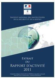 Télécharger le rapport d'activité 2011 - inhesj