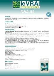 DNA 01 - Le Vrai Professionnel