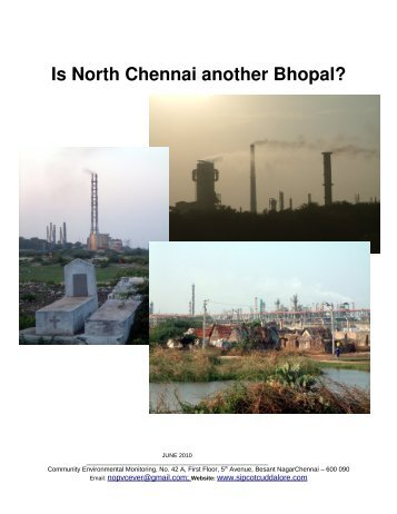 Why is Cuddalore another Bhopal - SIPCOT Area Community ...