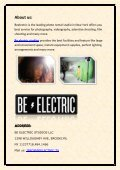 Be Electric studios - Page 2