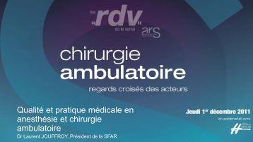 ambulatoire - ARS Languedoc-Roussillon