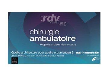 Quelle architecture pour quelle organisation ? - ARS Languedoc ...
