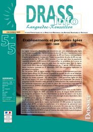 DRASS info n°55 - ARS Languedoc-Roussillon