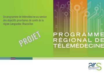 programme régional de télémédecine - ARS Languedoc-Roussillon