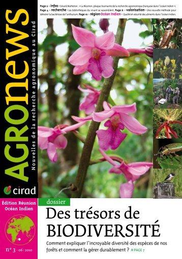 Agronews-Réunion/océan Indien N°3, juin 2010 - Cirad