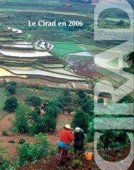 Le Cirad en 2006