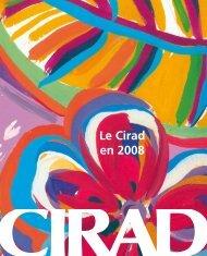 Le Cirad en 2008