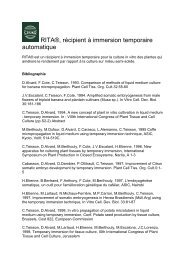 RITA®, récipient à immersion temporaire automatique - Cirad