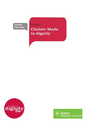 Choisir Made in dignity