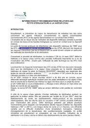 informations et recommandations relatives aux petits ... - ANSM