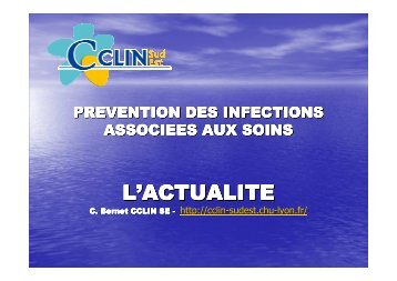 L'ACTUALITE - CClin Sud-Est