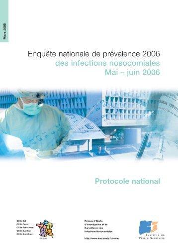 Protocole national - Institut de veille sanitaire