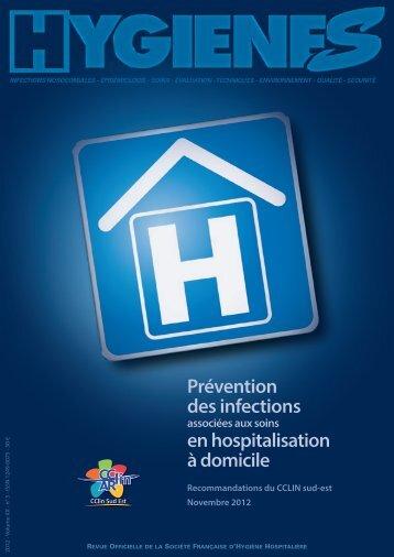 Prévention des infections associées aux soins en ... - CClin Sud-Est
