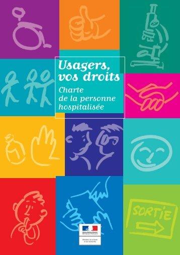 Charte de la personne hospitalisée - Ministère des Affaires sociales ...
