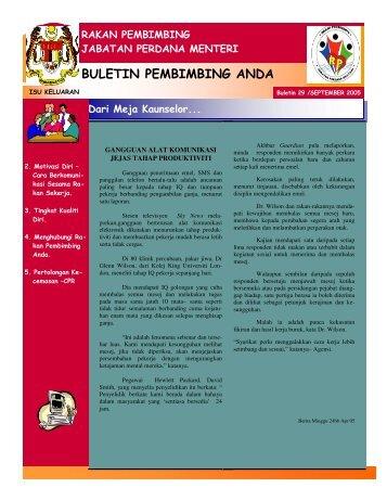 Gangguan Alat Komunikasi Jejas Tahap Produktiviti - Jabatan ...