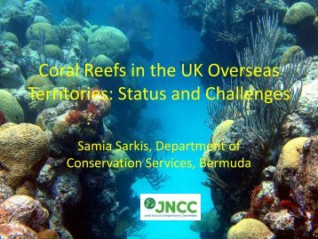 Coral Reefs in the UK Overseas Territories: Status and ... - JNCC