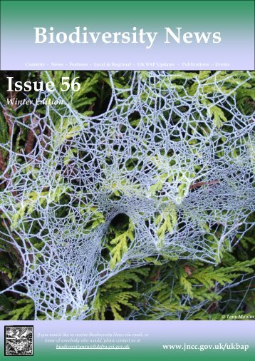 Biodiversity News - Issue 56 - Winter 2012 - JNCC - Defra