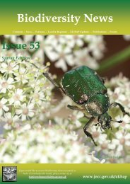 Biodiversity News - Issue 53 - JNCC - Defra