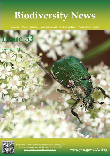Biodiversity News - Issue 53 - JNCC - Defra