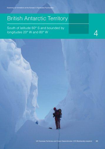 British Antartic Territory - JNCC - Defra
