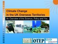 Climate Change presentation - JNCC - Defra