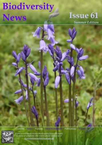 Biodiversity News - Issue 61 - Tayside Biodiversity Partnership