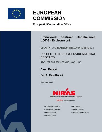OCT Environmental Profiles - European Commission - Europa